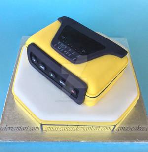 Walkman Cake