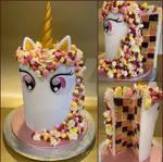 Unicorn cake by ginas-cakes