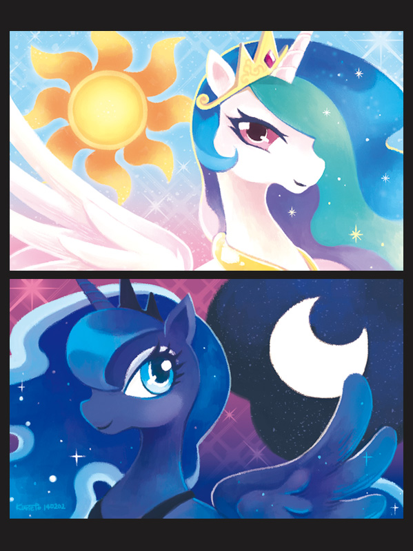 sun and moon by gtchuang