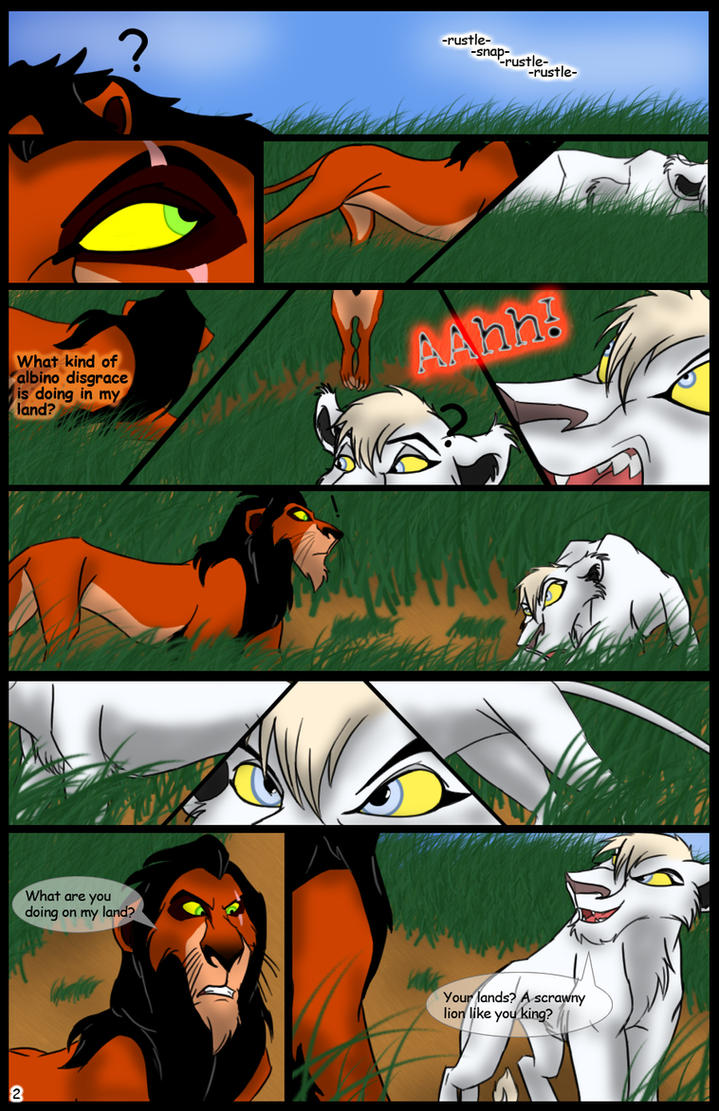 Scar's Story: Prologue: Page 2 by Fireary
