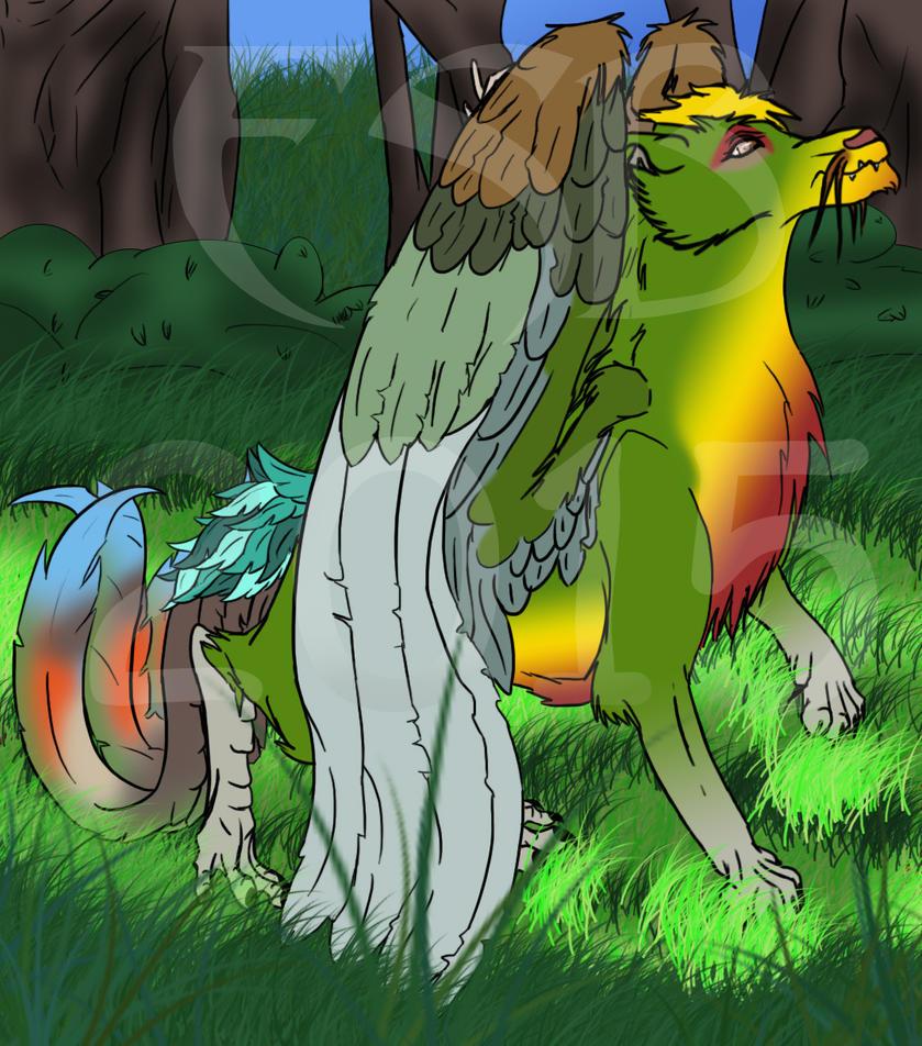 Guaravi - Dragon by Fireary