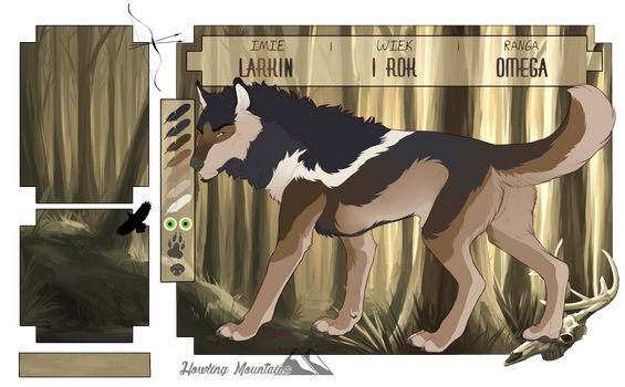 [HM] Larkin I Omega by WerewolfJay