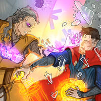 Doctor Strange by CONartist23