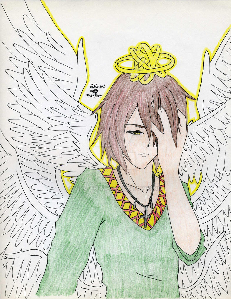 Demonized Angel Gabriel by Kira-Tsume