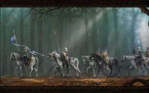 Elven patrol by WorldOfMiddle-earth