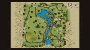homestead in the Shire map