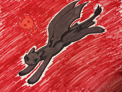 Toothless by HetaliaRper4life