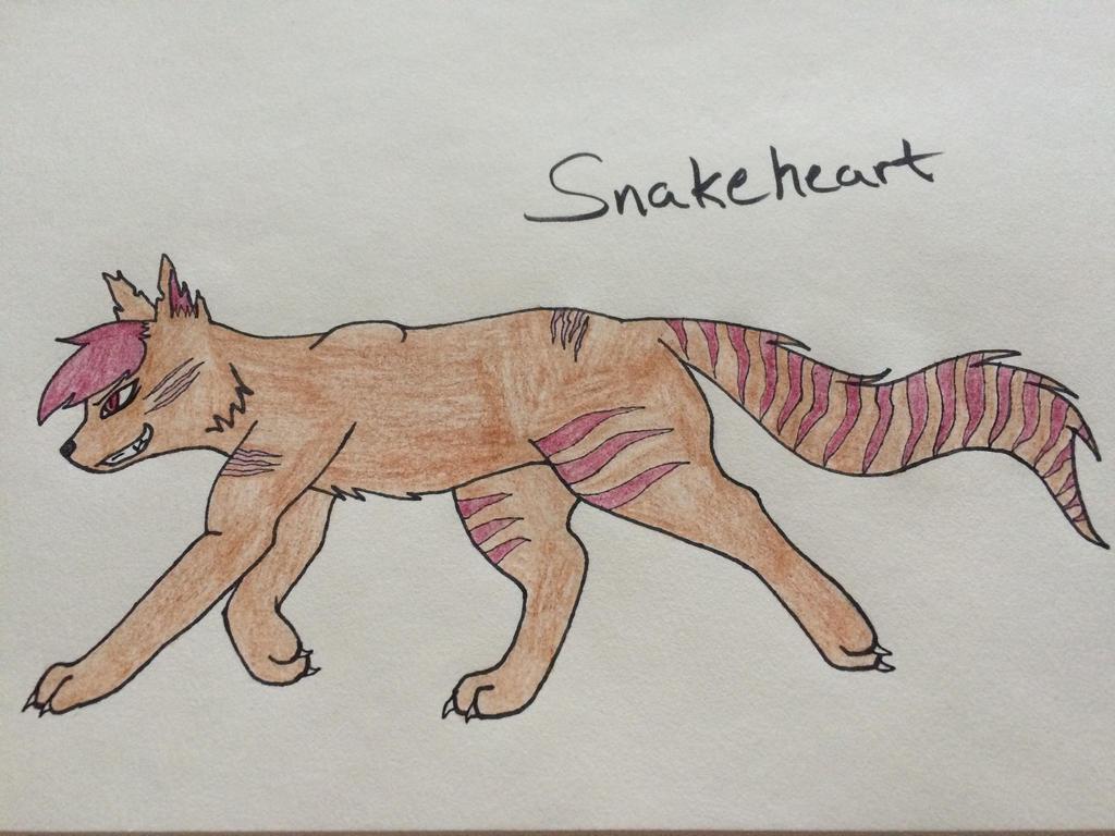 Snakeheart (Warrior OC) by HetaliaRper4life