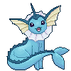 Vaporeon by greenskes