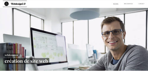 webdesigne2.O apercu site webdesigne2.0