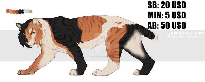 Big Cat ADOPT 2 (CLOSED)