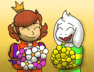Ahit X Undertale - Princes of Terrible Fates