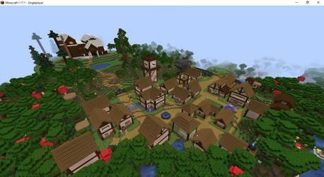 A Hat in Time - Subcon Village in Minecraft!!!