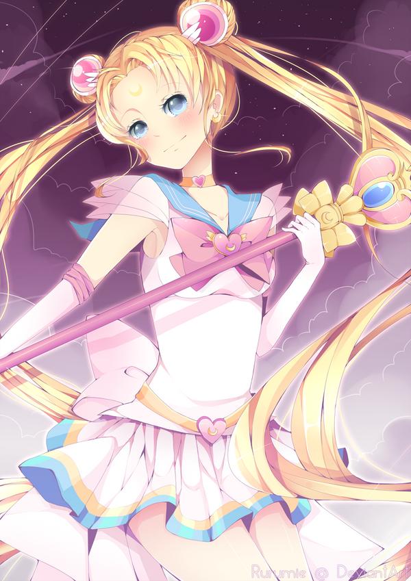 Super Sailor Moon by Aruella
