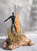 Warrior by reynaldomolinawire