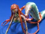 Aquagreen Mermaid in Wire