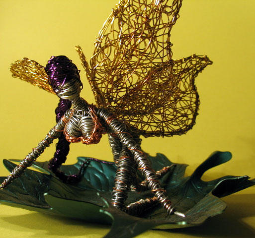 Fairy in Wire by reynaldomolinawire