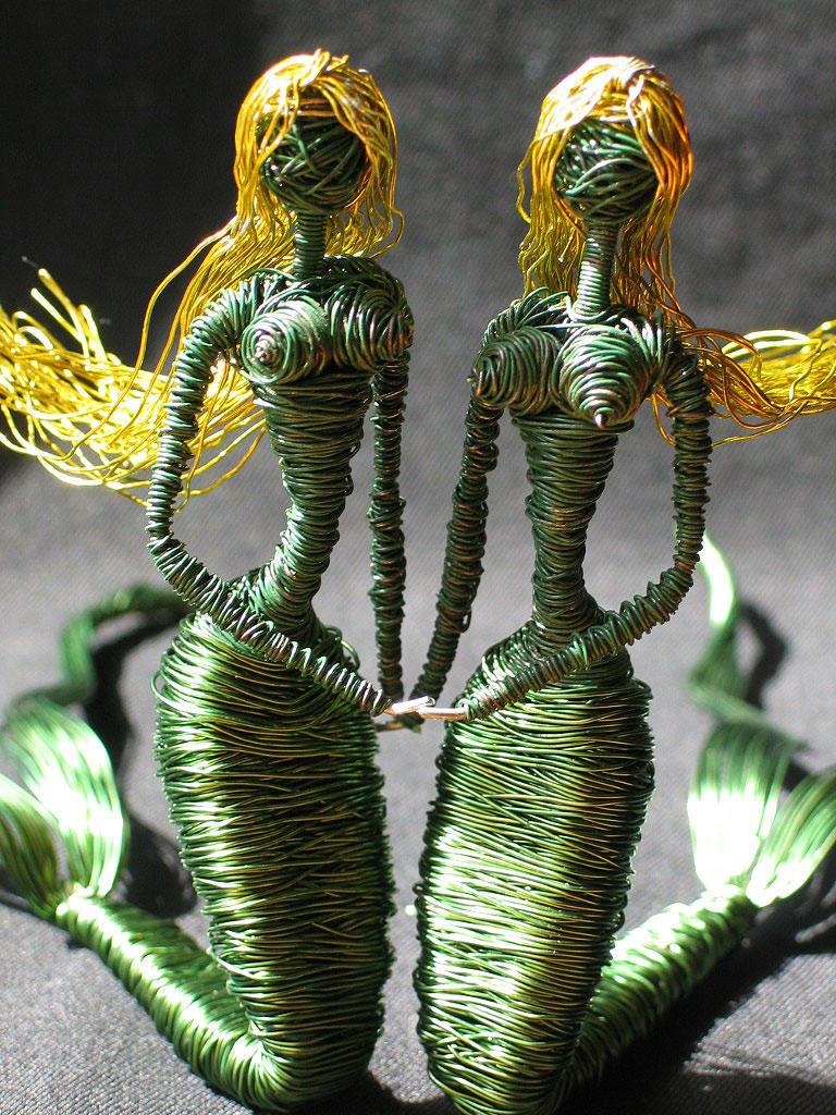 Gemini Mermaid Twins by reynaldomolinawire