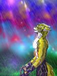 Zuelo in Rain by Zuelo-B-Riddick