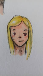 cheveux blond  by Sklaer-loar