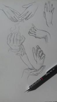 travail sur les mains 2