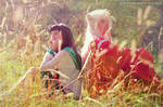 Inuyasha and Kagome Cosplay - Sunlight by SchneeAmsel