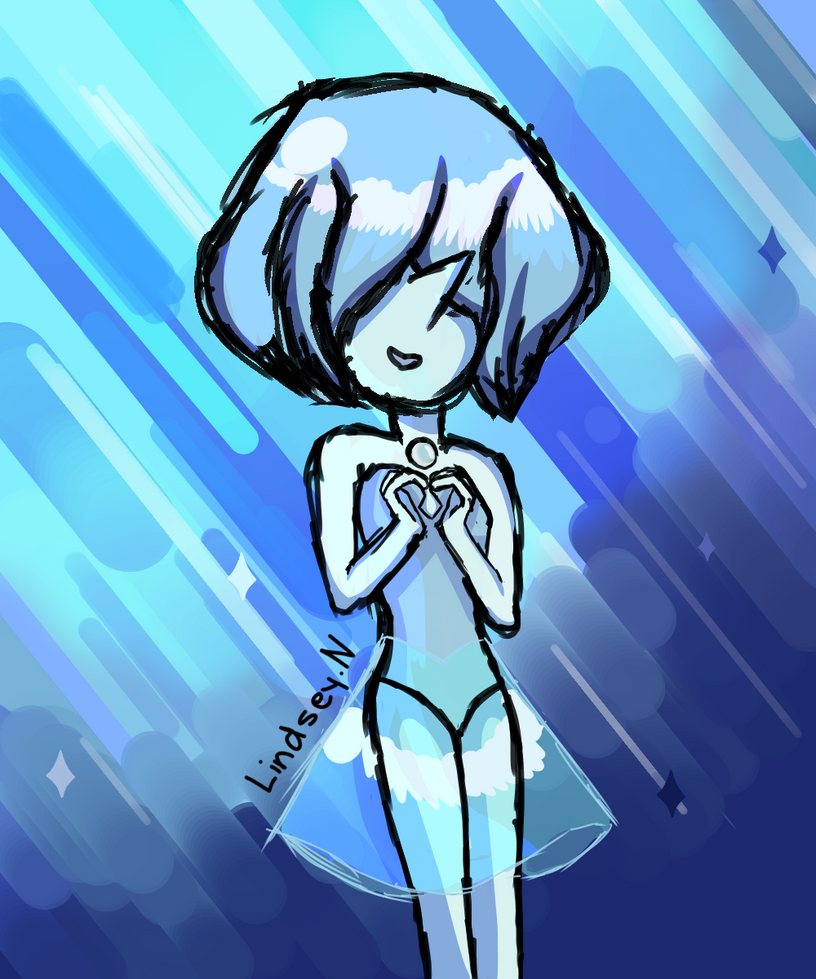 BLUE PEARL  One of my favourite and shy Steven universe character! I do not own Steven Universe.