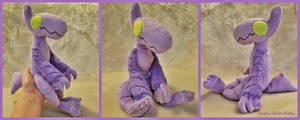 Pepper The Anthro Beanie Plush by The-Plushatiers