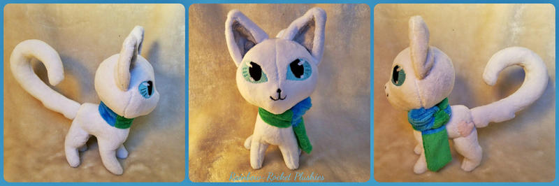 Opal the Cat Plush by The-Plushatiers