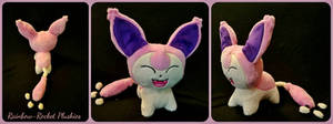 Skitty Pokemon Flat Sale Plush (SOLD) by The-Plushatiers