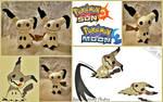 Mimikyu Pokemon Flat Sale Plush (On Sale-Etsy)
