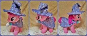 Berrywizard Medium Pony Plush by The-Plushatiers