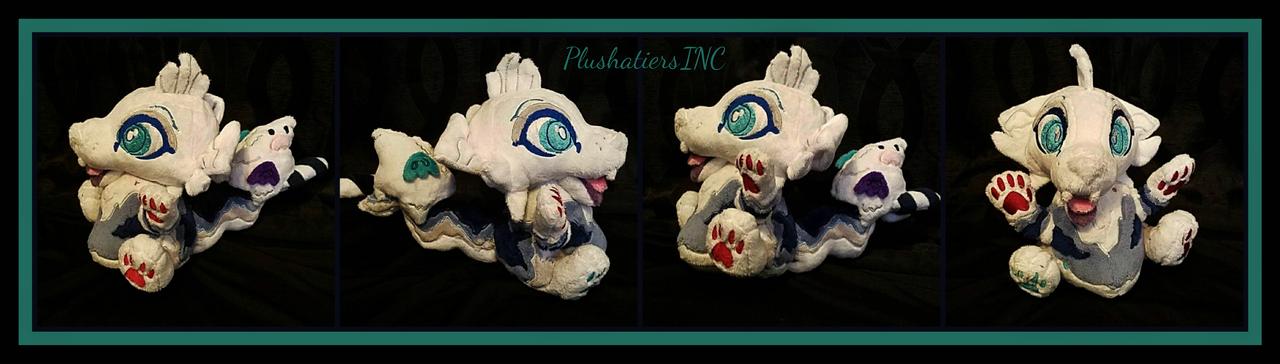 Boo the Cinnadog Chibi Plush by PlushatiersINC