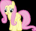 Fluttershy Worried (Vector)
