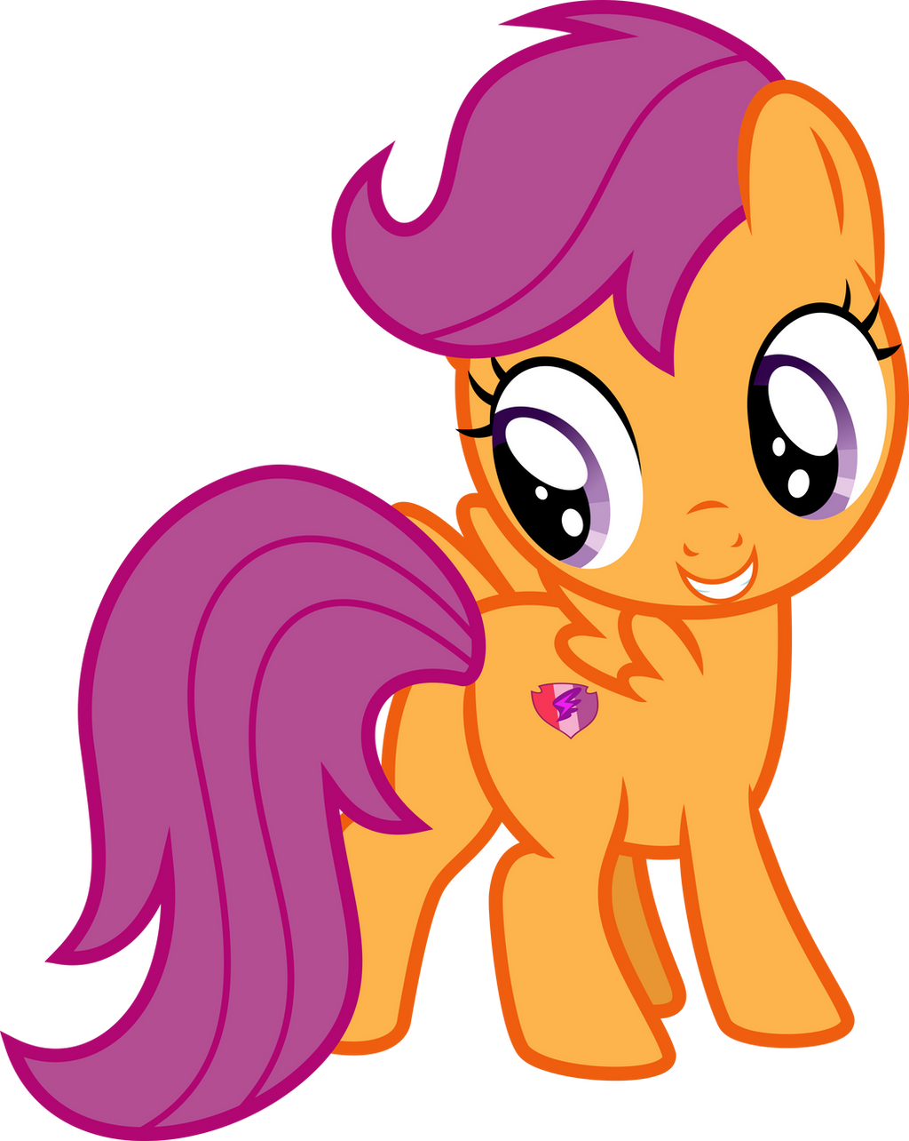 Scootaloo's New Cutie Mark by Aethon056