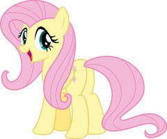 Fluttershy's Irresistable Smile by Aethon056