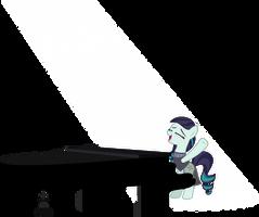 Rara at Piano by Aethon056