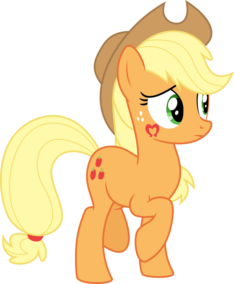 Applejack is Disturbed by This by Aethon056