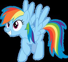 Rainbow Dash Simple by Aethon056