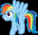 Rainbow Dash Simple