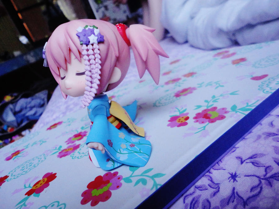 having fun in the bedroom with madoka by odessa himijo on deviantart