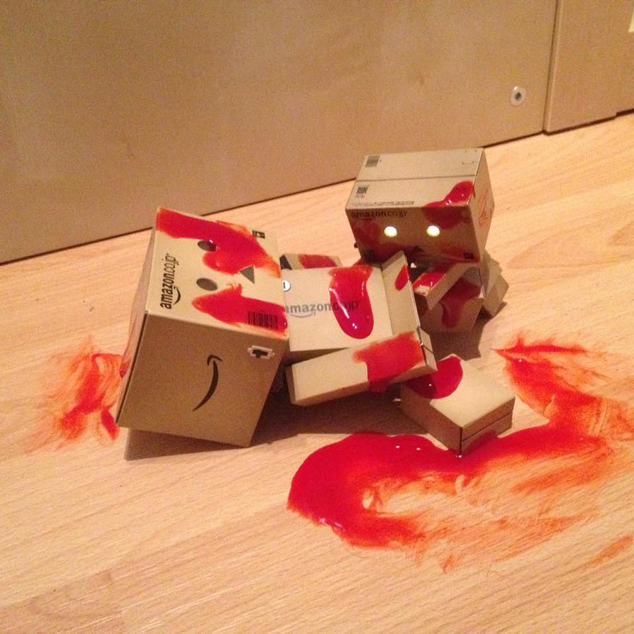 Zombie Danbo by ineos