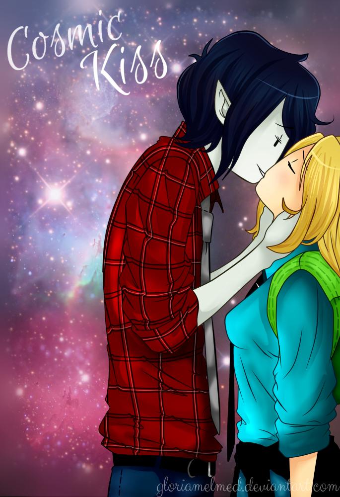 Cosmic Kiss by gloriamelmed