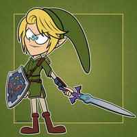 Link (Twilight Princess) in Loud House Form