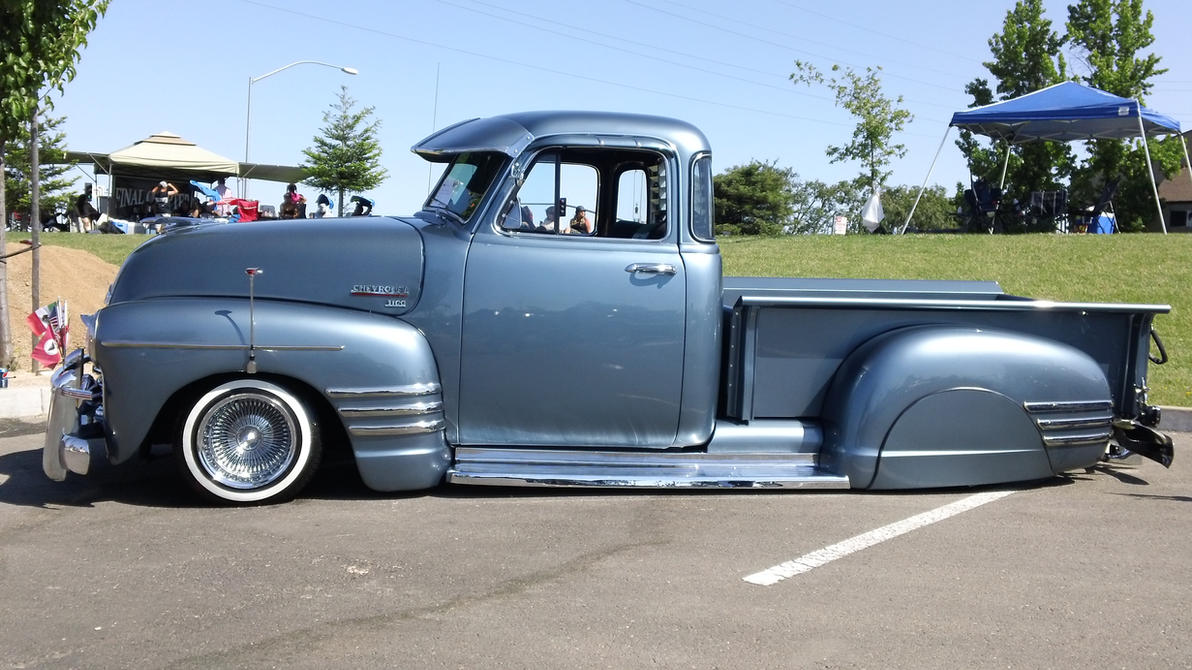 Chevrolet 3100 Lowrider Bomb Truck by anrandap on DeviantArt Lowrider Cars And Trucks