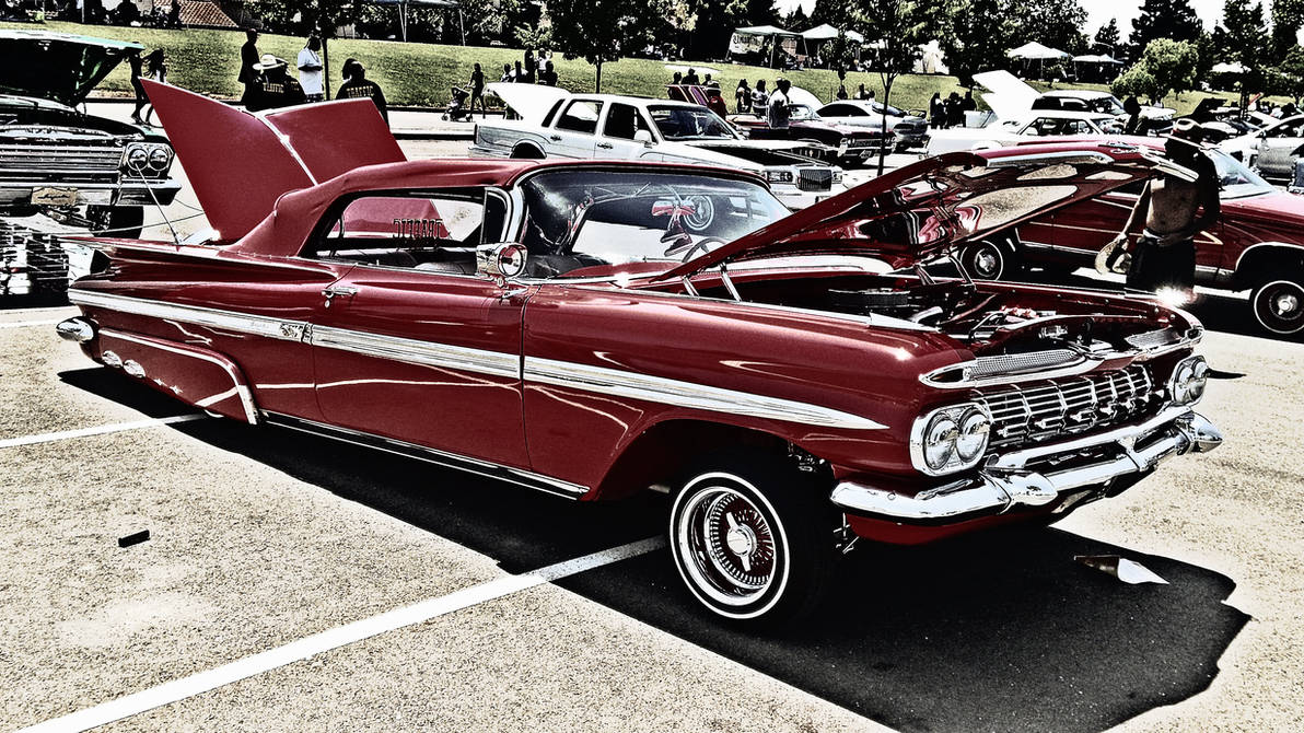 1959 Chevrolet Impala Lowrider by anrandap on DeviantArt
