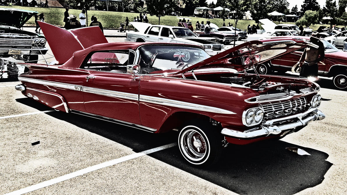 1959 Chevrolet Impala Lowrider by anrandap