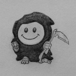 Drawlloween 2018 Day 7: Grin Reaper