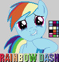 Pixel RainbowDash