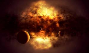 Birth of a Star by esk6a
